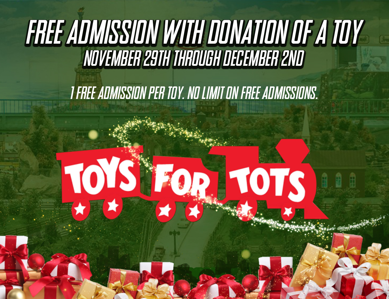 Free Admission for Toy Donations