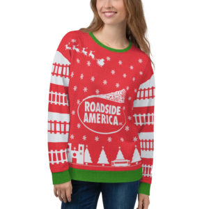 LIMITED EDITION: 2019 Roadside America Ugly Christmas Sweater