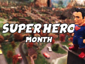 Superheroes & 1/2 Priced Admission Offer All Month Long