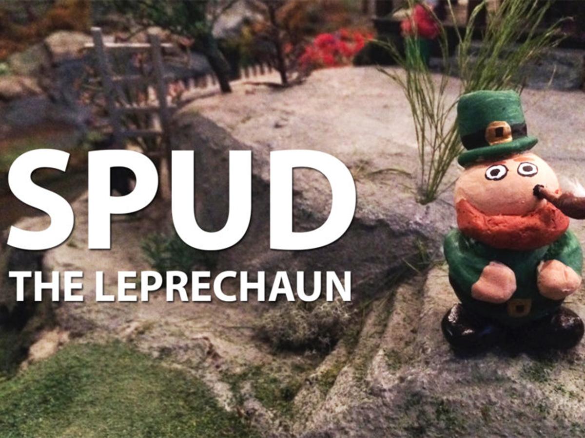 Spud the Leprechaun Returns for St. Patrick's Day